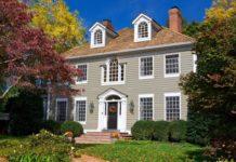 Загородный дом в колониальном стиле