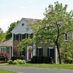 Частный дом в федеральном колониальном стиле