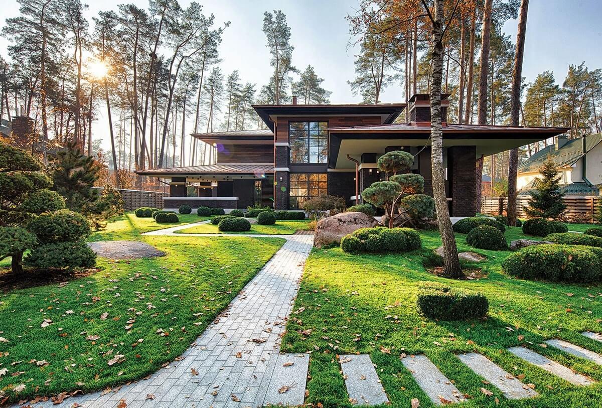 Загородный дом в стиле прерий