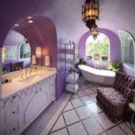 Стильная ванная в марокканском стиле