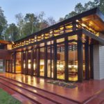 Современный дом в стиле прерий