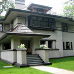 Дом в стиле Райта - фото