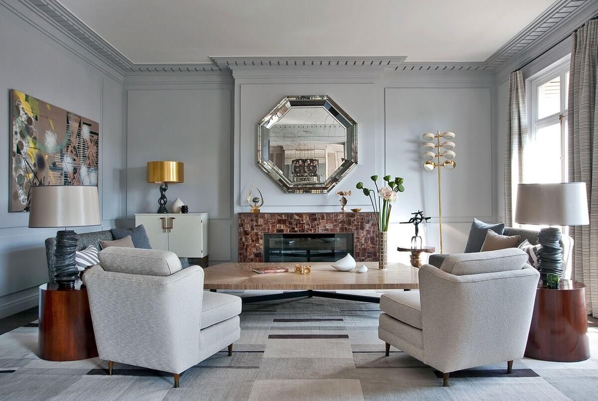 Декор и украшения в парижском интерьере