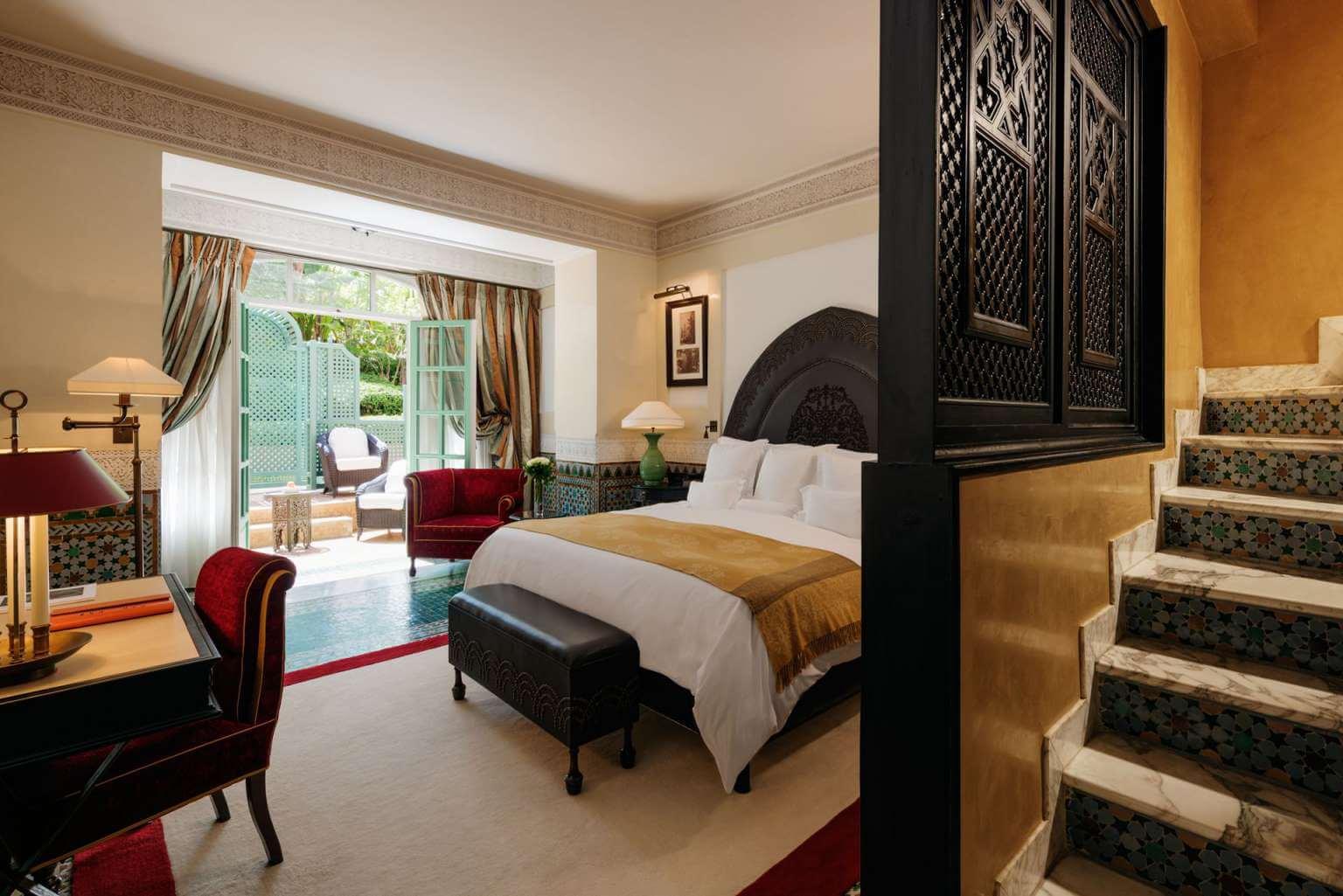Интерьер спальни в османском стиле