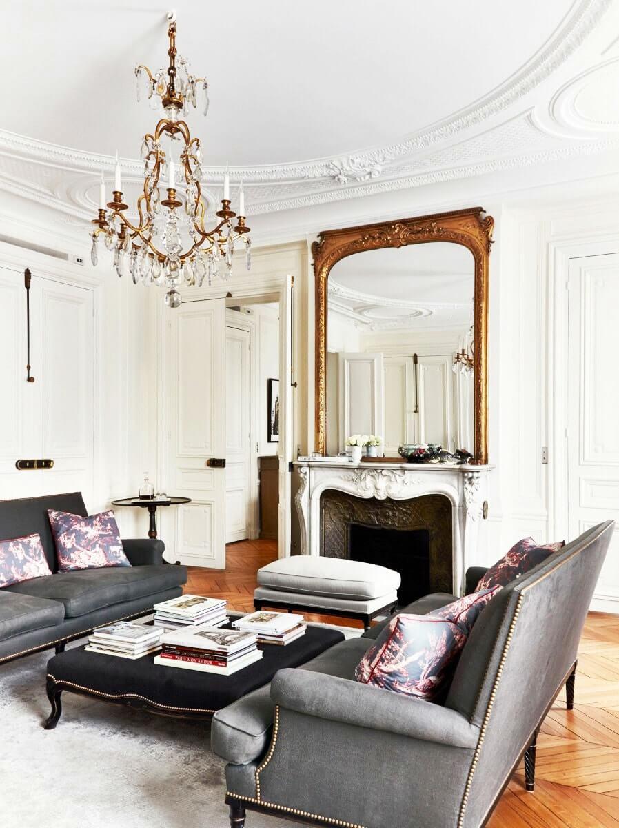 Парижский стиль в интерьере - цвета