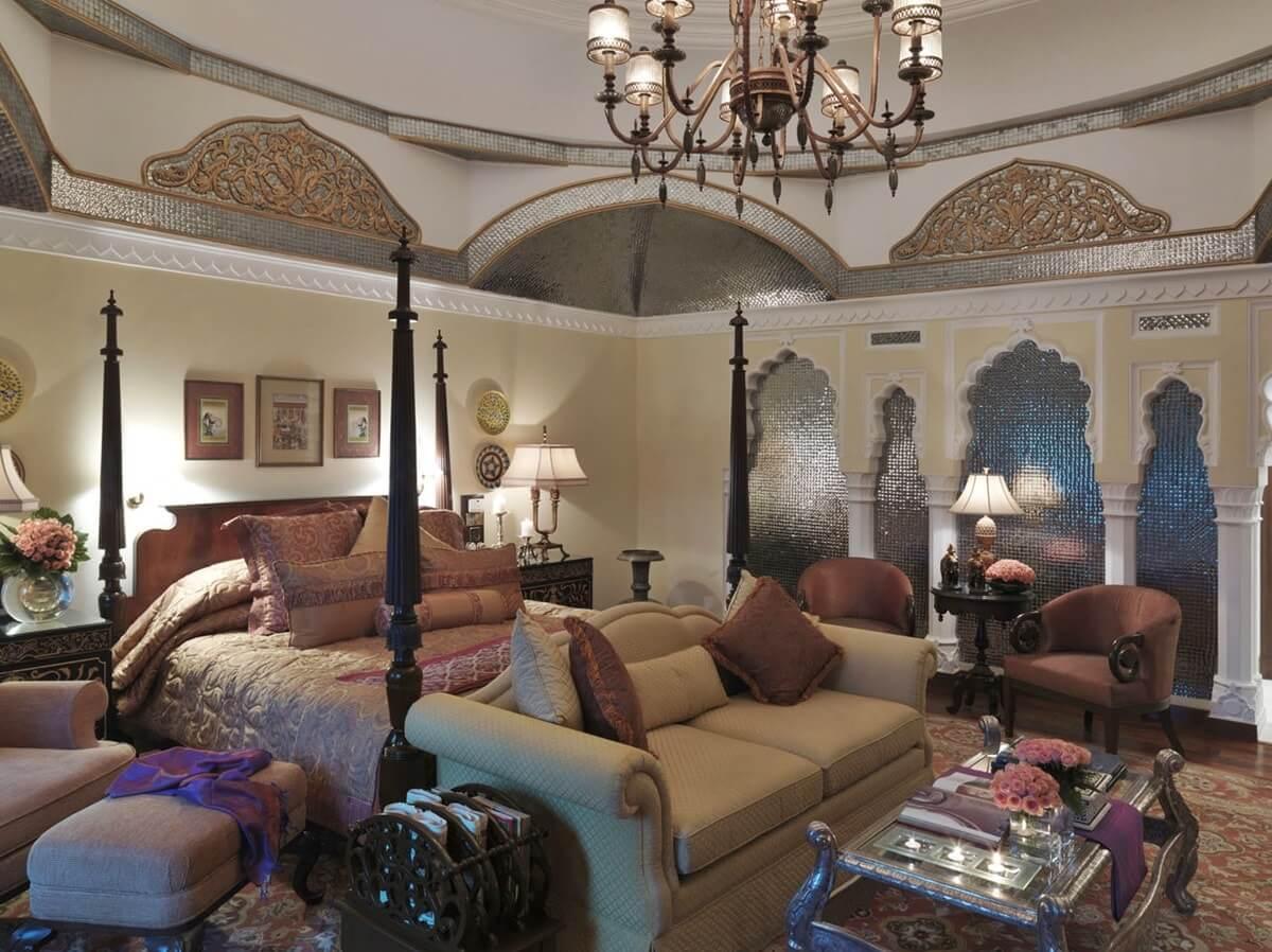 Современная спальня в османском стиле