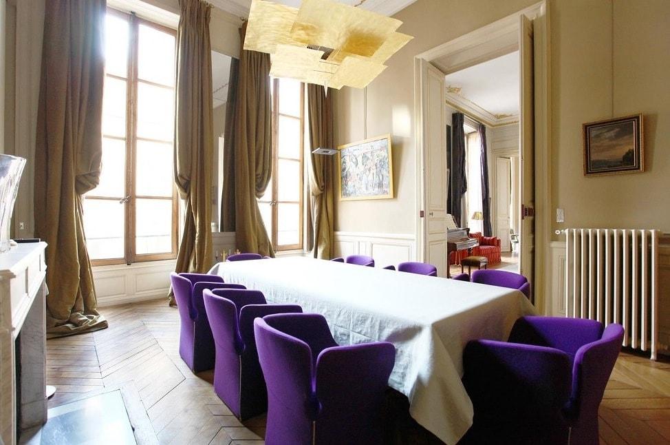 Столовая в парижском стиле