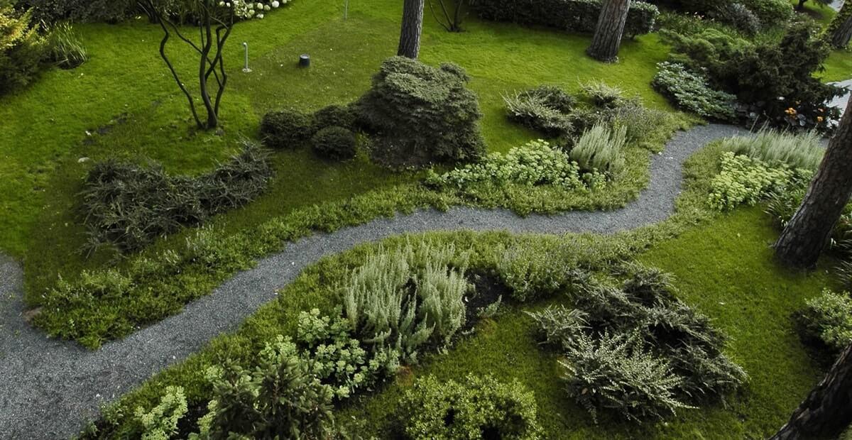 Экостиль в ландшафтном дизайне - дорожки