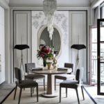 Кухня-столовая в парижском стиле