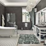 Ванная комната в парижском стиле