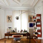 Рабочий кабинет в парижском стиле