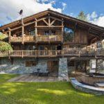 Современный дом в стиле шале - фото