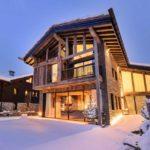 Архитектура дома в стиле шале - фото