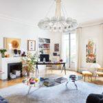 Современная гостиная в парижском стиле