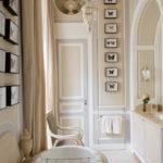 Оформление ванной комнаты в парижском стиле