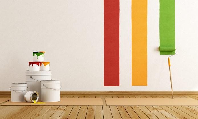 Варианты отделки стен - краски