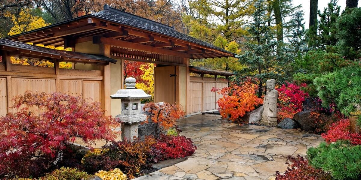 Ворота в японский сад