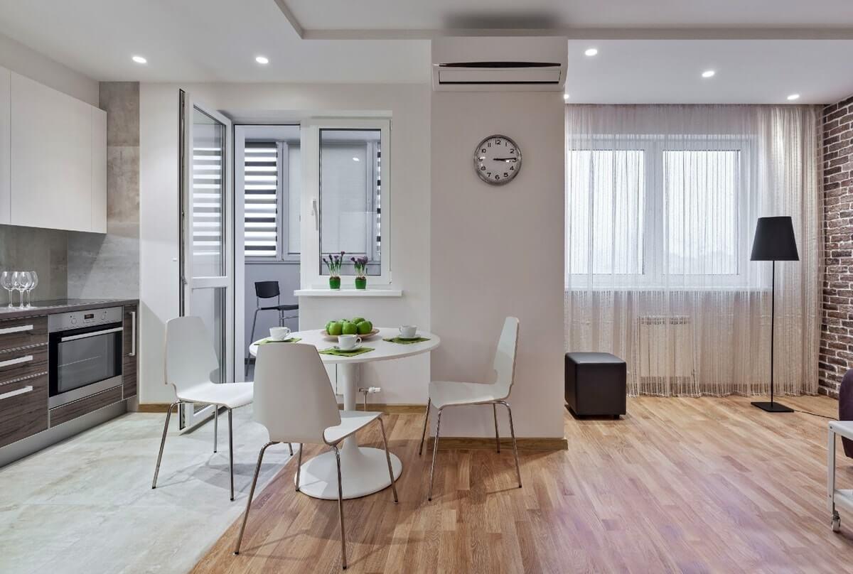 Дизайн интерьера двухкомнатной квартиры - фото 3