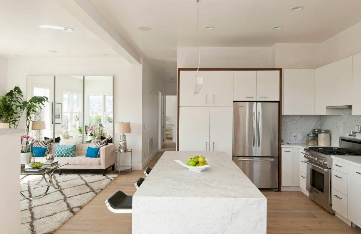 Дизайн двухкомнатной квартиры - фото
