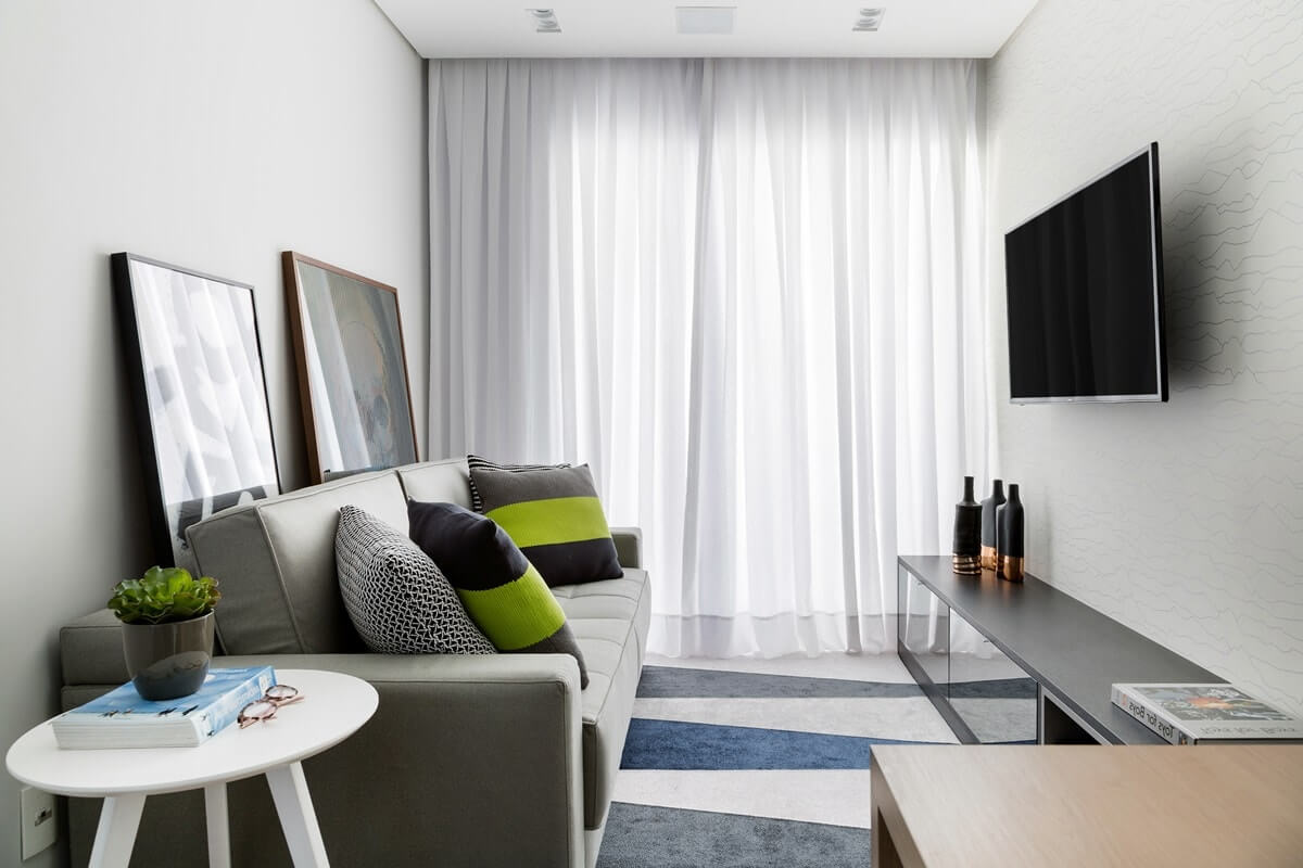 Дизайн интерьера однокомнатной квартиры - фото 10