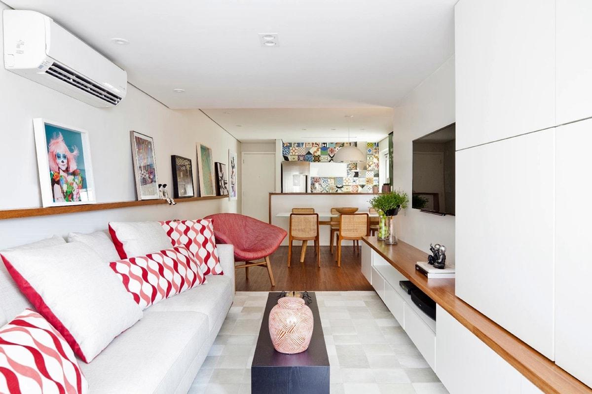 Дизайн интерьера однокомнатной квартиры - фото 4
