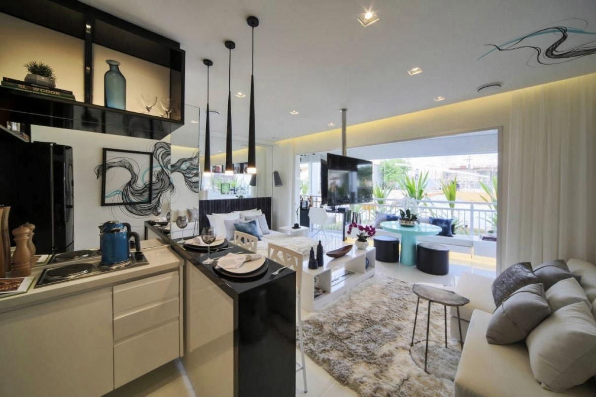 Дизайн интерьера однокомнатной квартиры - фото 5