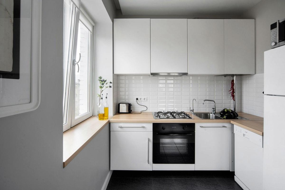 Дизайн кухни на 7 квадратов