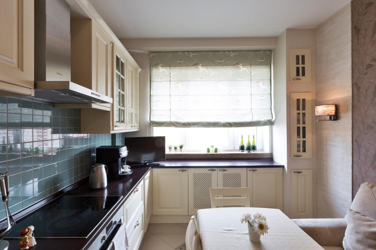 Дизайн кухни 10 кв.м. - фото