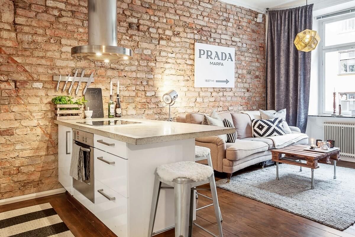 Дизайн однокомнатной квартиры - фото 11