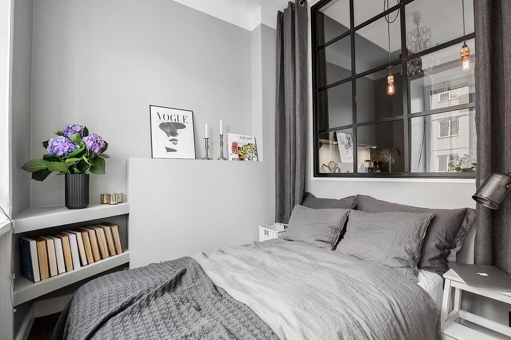 Дизайн однокомнатной квартиры - фото 12
