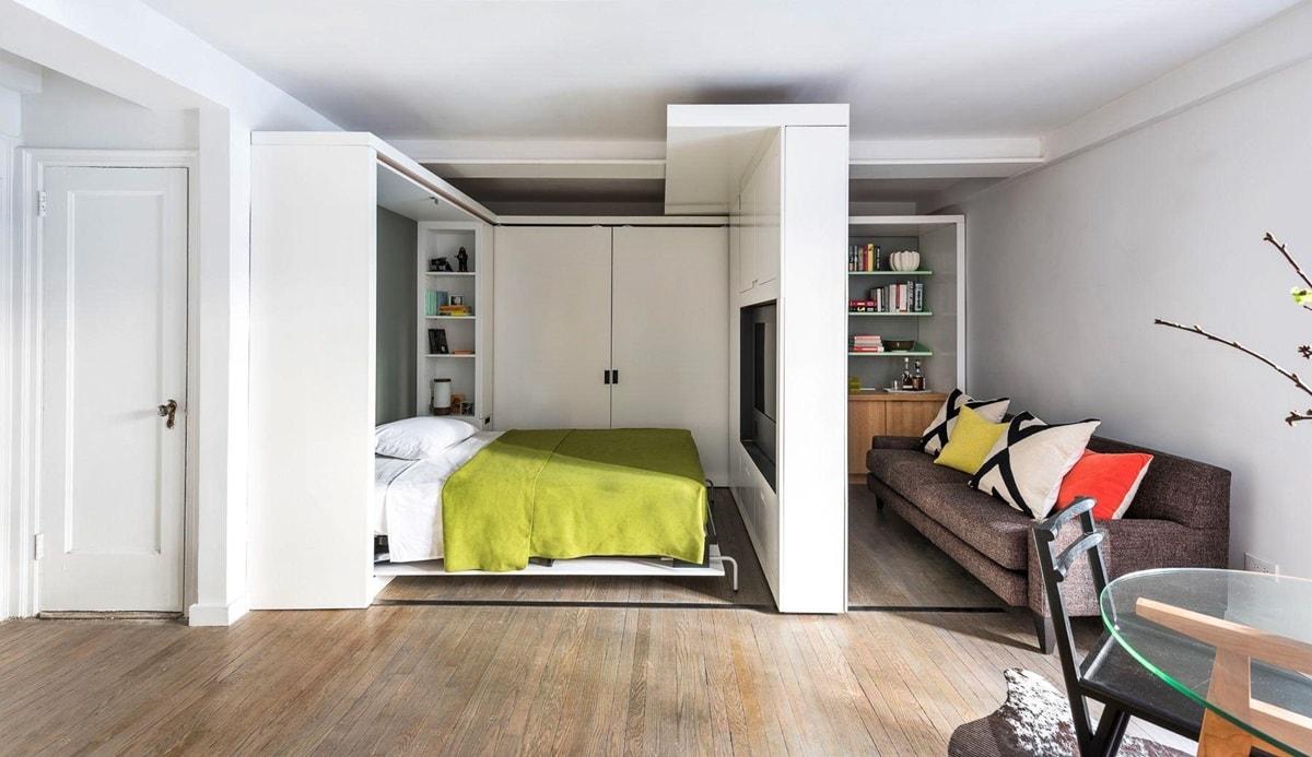 Дизайн однокомнатной квартиры - фото 13