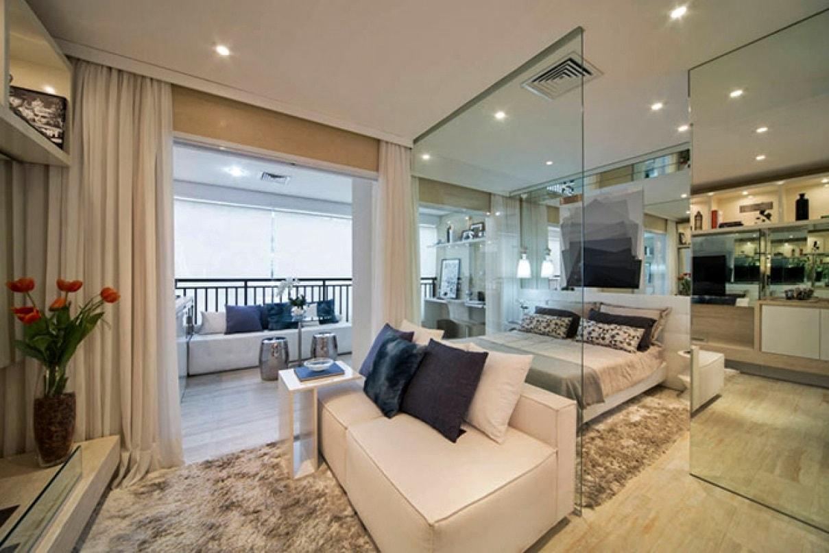Дизайн однокомнатной квартиры - фото 3
