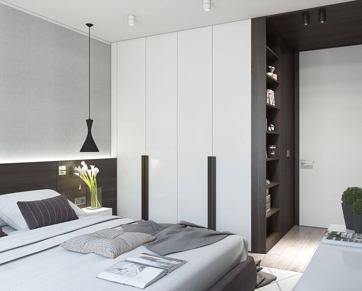 Дизайн однокомнатной квартиры - фото 8