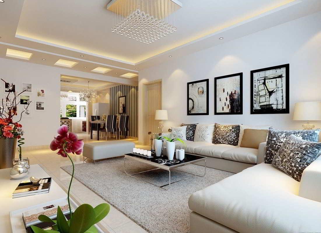 Дизайн трехкомнатной квартиры - фото 1
