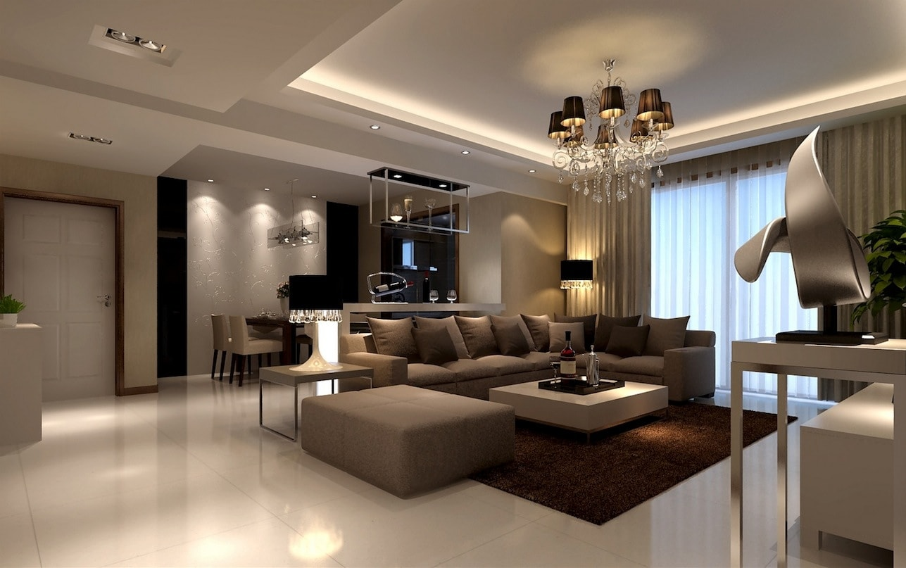 Объединение коридора и гостиной