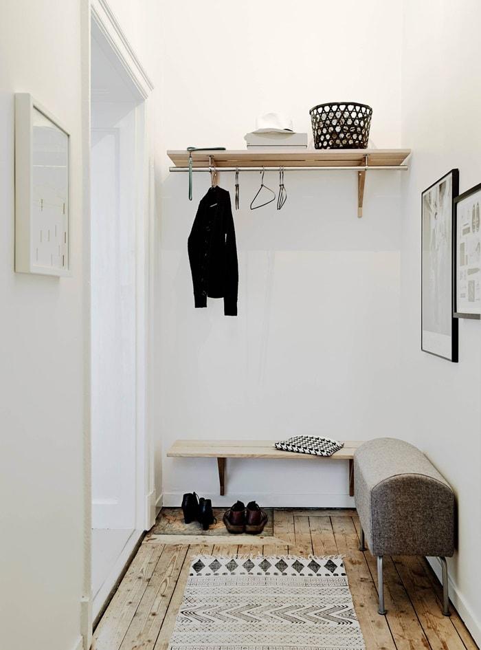 Дизайн интерьера маленькой прихожей, варианты, фото