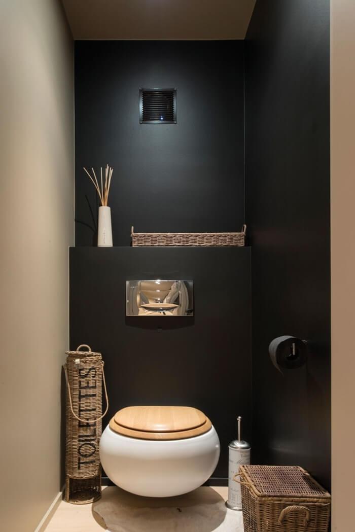 Стильный интерьер туалета