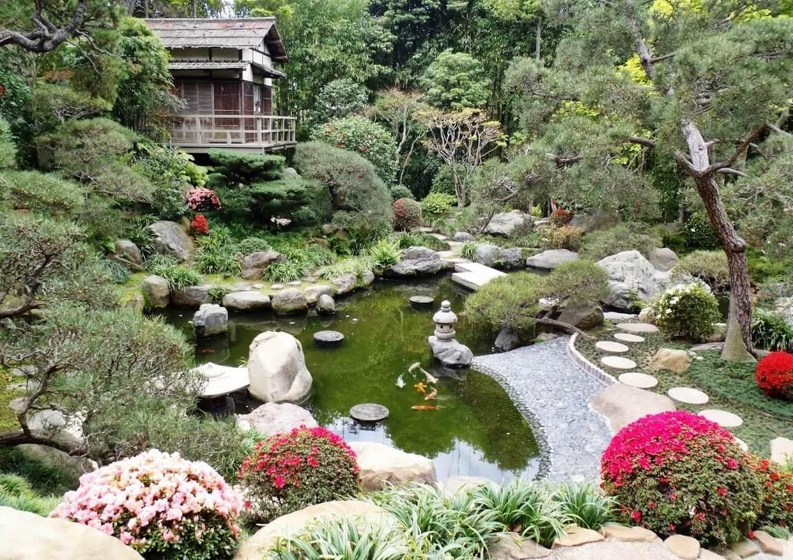 Японский стиль в ландшафтном дизайне - фото