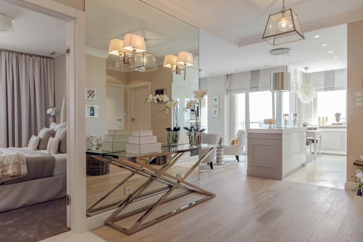 Дизайн интерьера двухкомнатной квартиры - фото 4