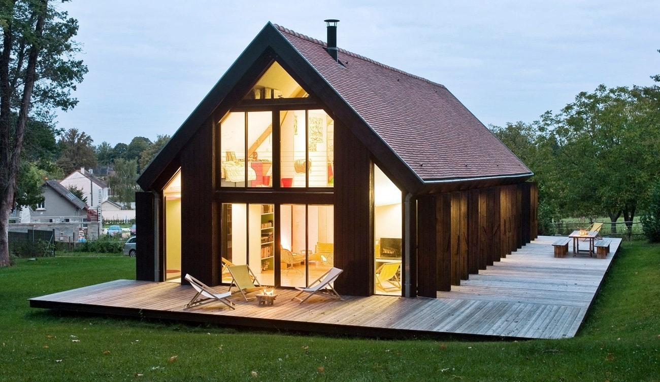 Архитектурный стиль барнхаус