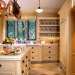 Бежевый в интерьере кухни (2)