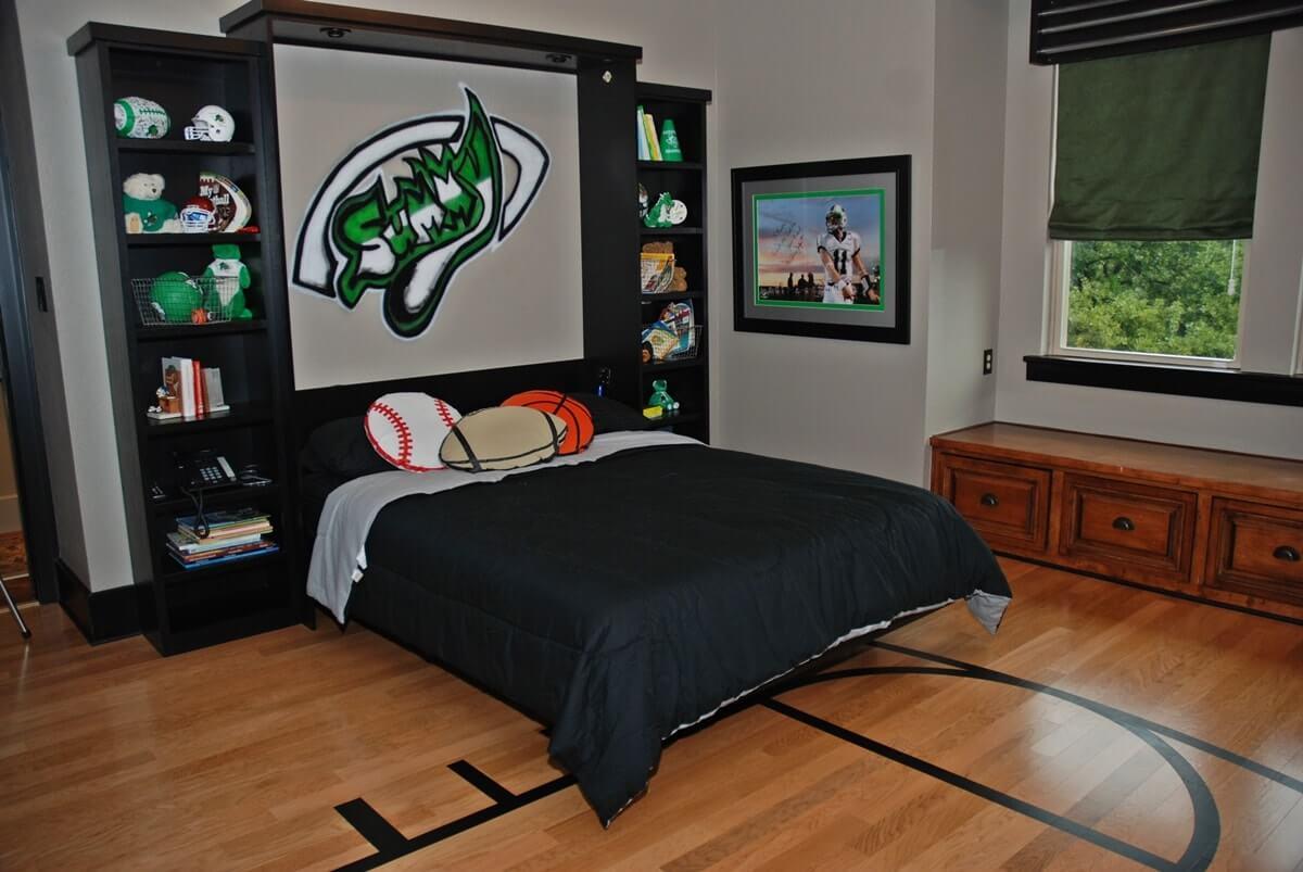 Дизайн комнаты мальчика подростка - фото 2