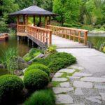 Идиллический сад в китайском стиле
