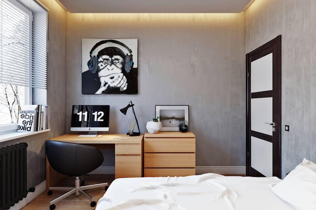 Комната подростка в стиле минимализм