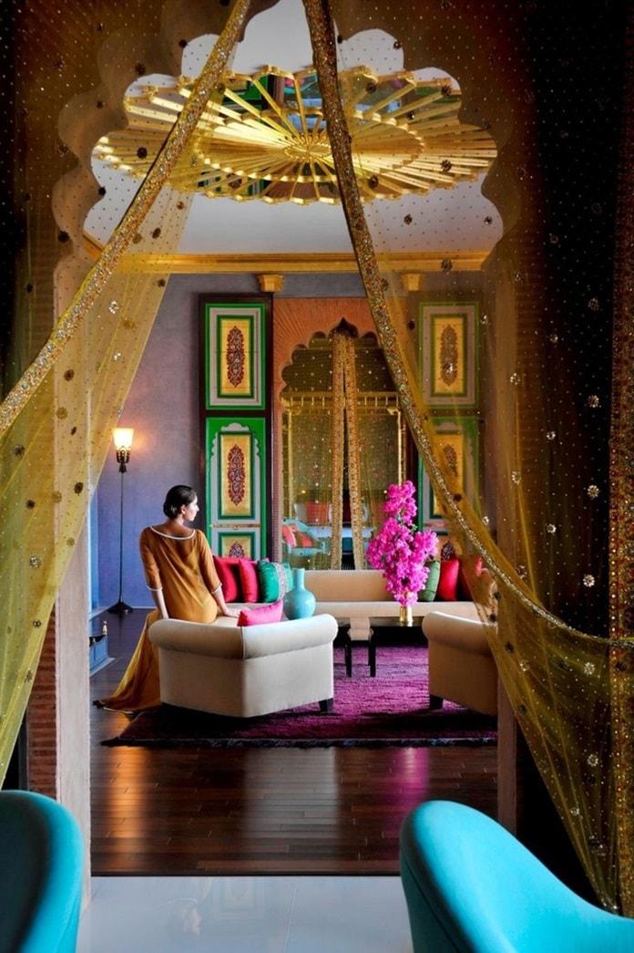 Мавританский стиль в интерьере - мебель