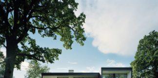 Одноэтажная вилла в стиле минимализм