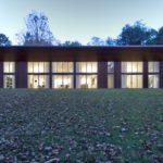Одноэтажный загородный дом с односкатной крышей - фото 9
