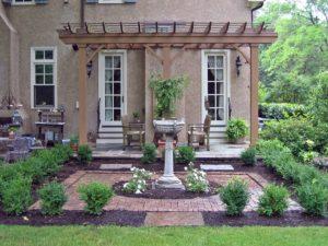 Садовая мебель в колониальном стиле