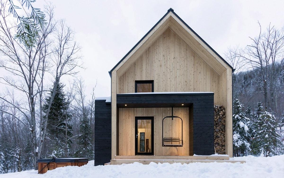 Современный загородный дом в скандинавском стиле