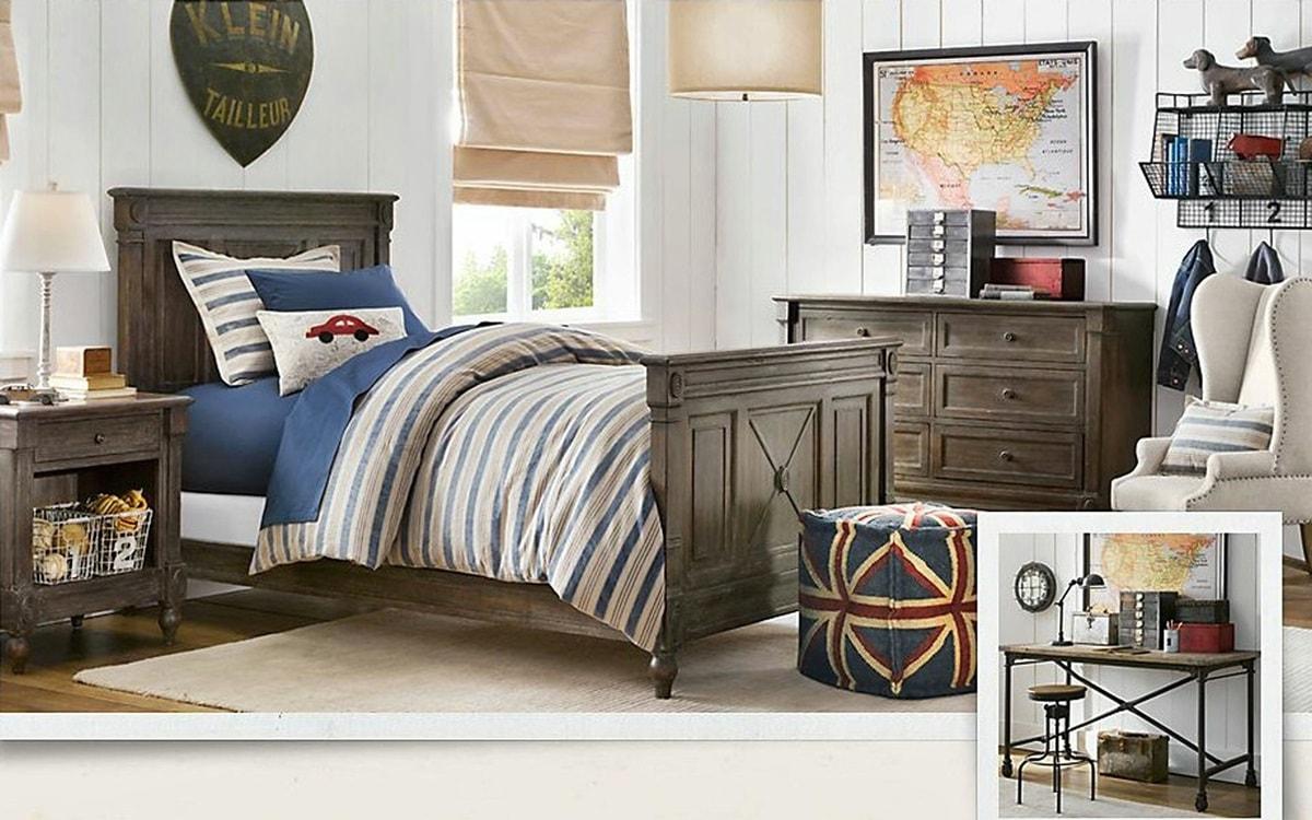 Дизайн комнаты мальчика подростка - фото 4